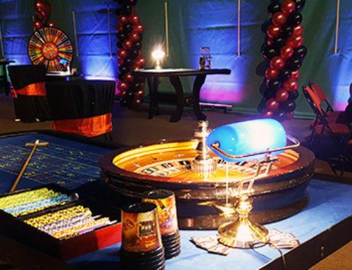 Soirée casino à la salle des fêtes du Plessis Trévisse
