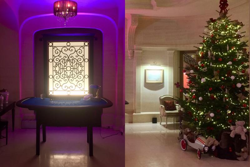 Soirée casino pour Noël