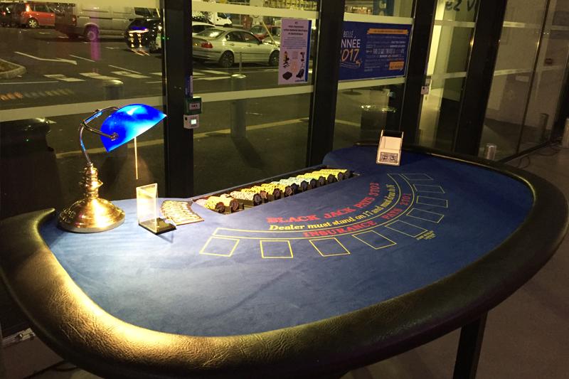 Animation casino pour soirée du personnel