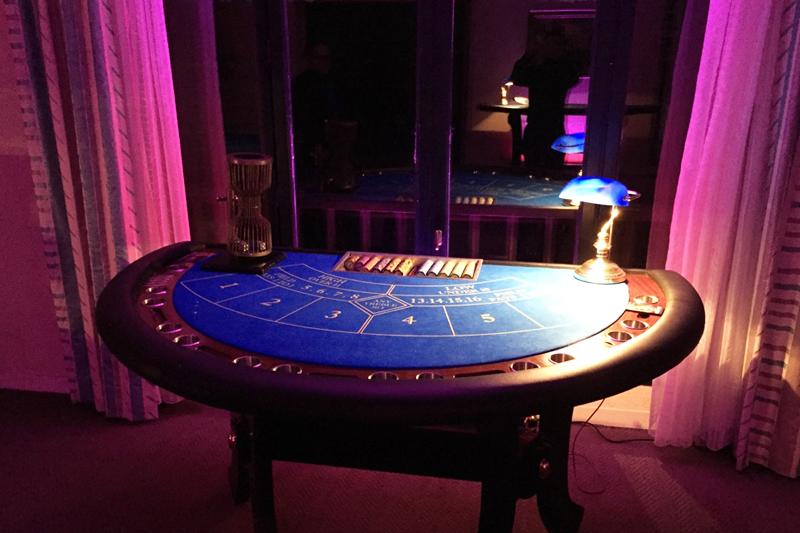 Soirée casino pour animer une soirée de fin d'année