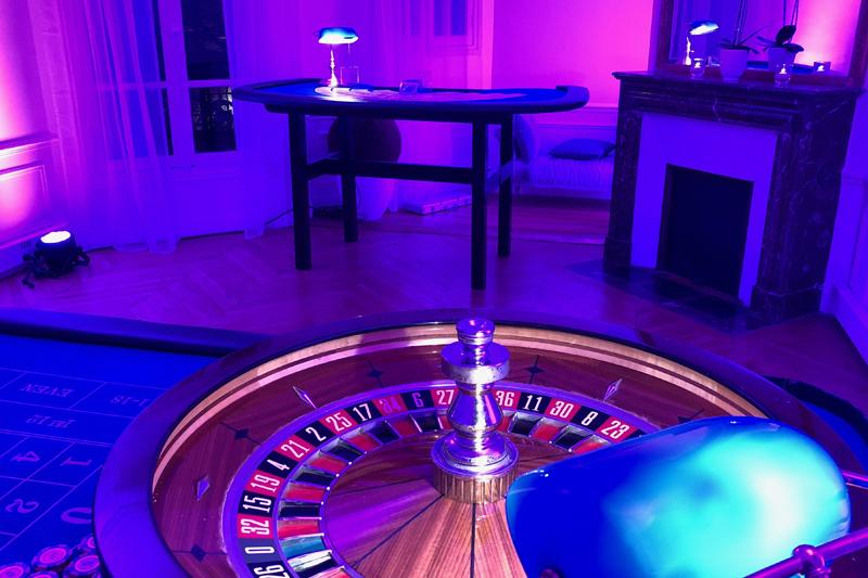 Location de roulette et Black Jack pour soirée casino en entreprise dans Paris