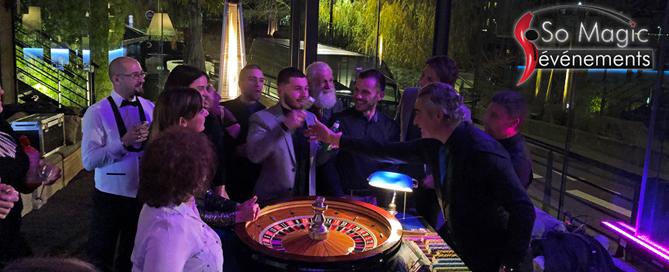 Restaurant Quai Est Prestation table de jeux casino