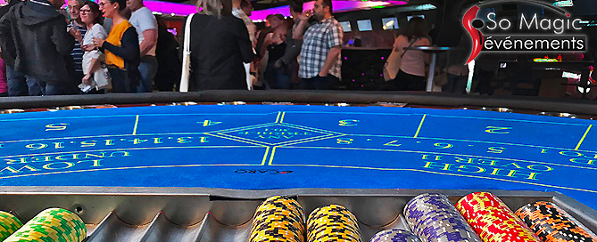 prestation entreprise soirée casino