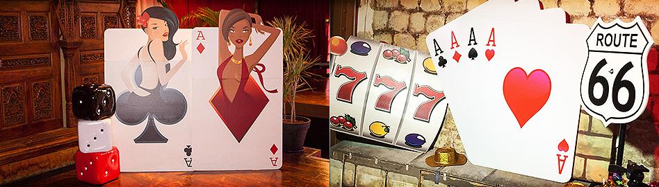 Favorit Décoration thème Las Vegas | Déco casino, louer matériel Las Vegas  XH05